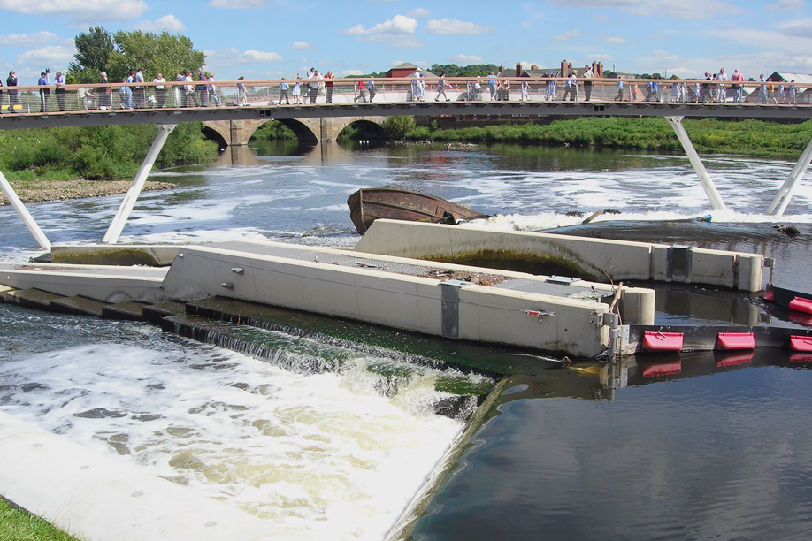 Arup - Castleford Weir Fish Pass